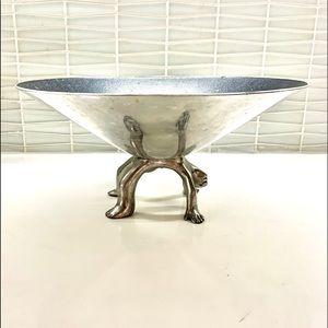 'Carole Boyes' Functional art Upside man bowl